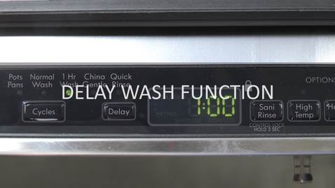 Thumbnail for entry Delay Cycle and Your Washer
