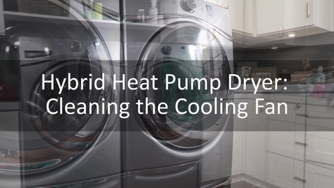 Thumbnail for entry Hybrid Care Cleaning the Cooling Fan