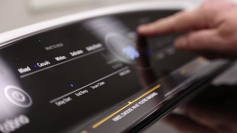 Thumbnail for entry Intuitive Touch Controls - Whirlpool® Top Load Laundry