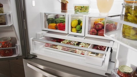 Thumbnail for entry Temperature-Controlled Full-Width Pantry - Whirlpool Refrigeration