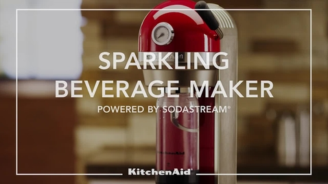 Thumbnail for entry Basic Operation Sparkling Beverage Maker - KitchenAid