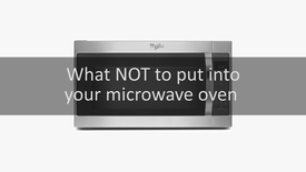 Thumbnail for entry What not to put into a microwave oven