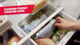 Thumbnail for entry Flexable Storage Options - Amana Top Mount Refrigeratior