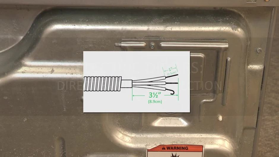 How to Create a Direct 3-Wire Connection for a Dryer - Learn ...