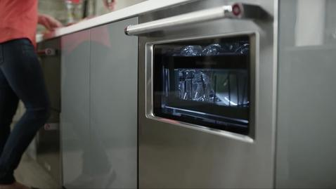 Thumbnail For Entry KitchenAid Window In Door Dishwasher   Advantage Live  March 2016