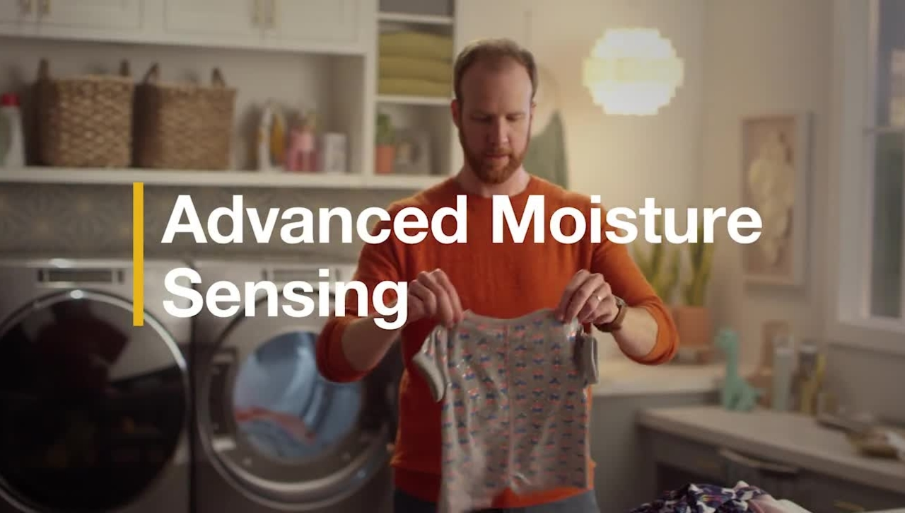 Advanced Moisture Sensing - Whirlpool®  Laundry