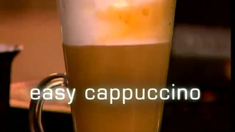 Thumbnail for entry Easy Cappuccino - KitchenAid Pro Line