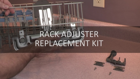 Thumbnail for entry Rack Adjuster Replacement Kit for Dishwasher