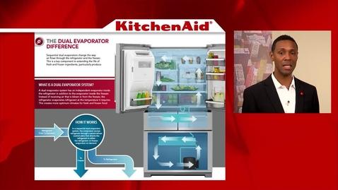 Thumbnail for entry ExtendFresh Temperature Management & Preserva Food Care System - Advantage Live - KitchenAid Refrigeration