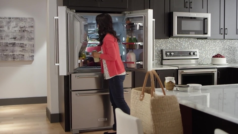 Thumbnail for entry 5-Door Refrigerator Compilation - KitchenAid Brand