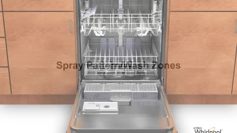 Thumbnail for entry Spray Patterns - Whirlpool Dishwasher