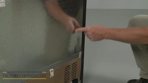 Thumbnail for entry Modular Ice Maker Installation Model ECKMF95