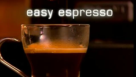 Thumbnail for entry Easy Espresso - KitchenAid Pro Line