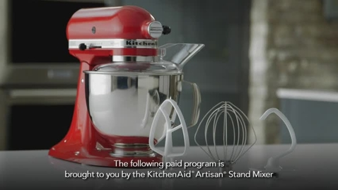 Thumbnail for entry KitchenAid Stand Mixer - Aspen Food and Wine Show