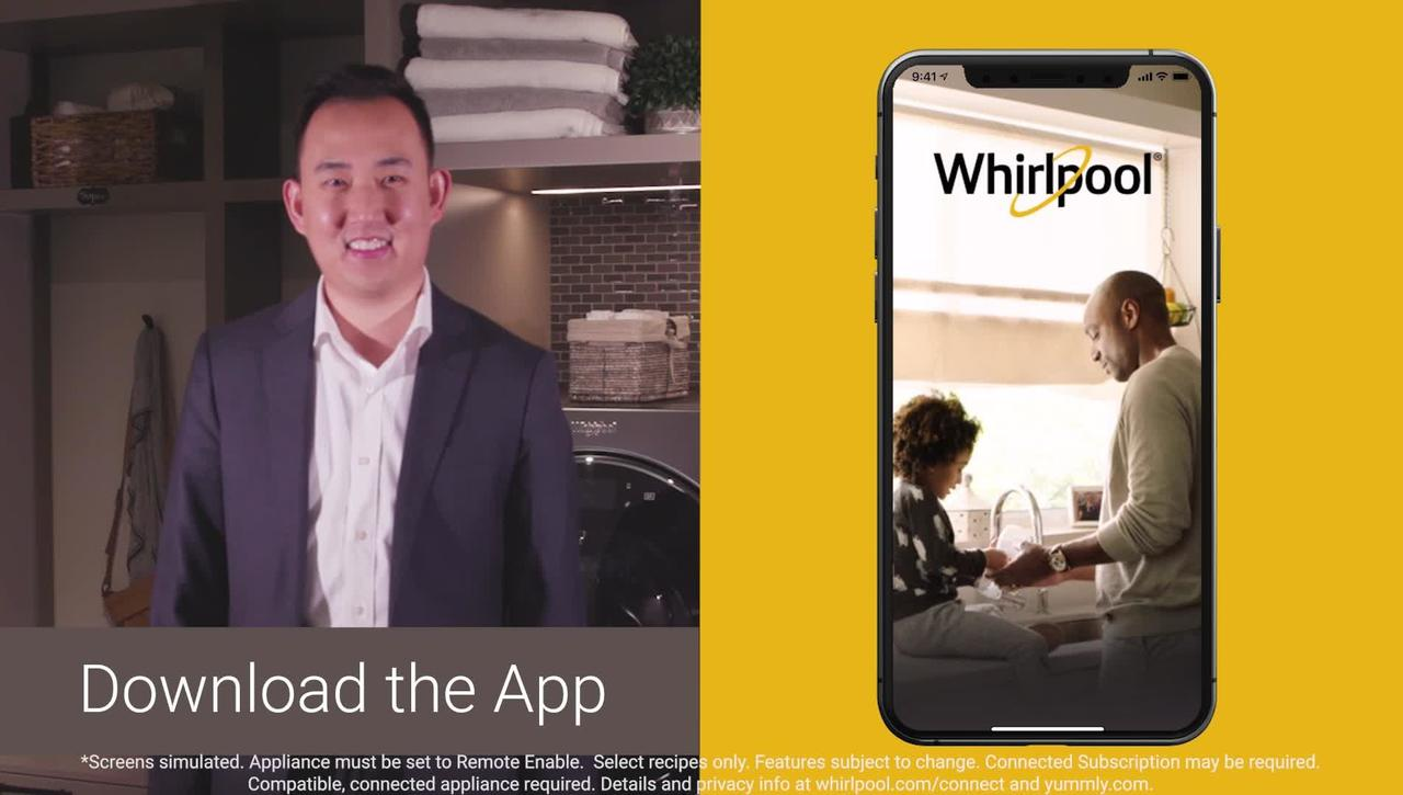 Improved experience on the updated Whirlpool® App