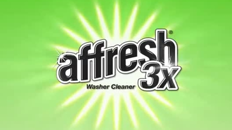 Thumbnail for entry Benefits of the Affresh 3x Washer Cleaner