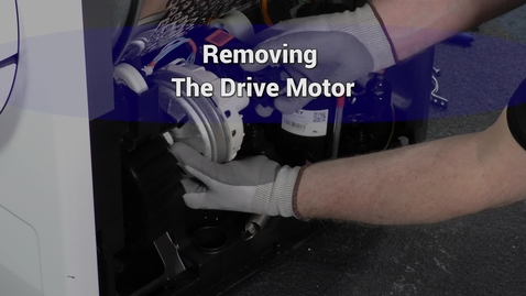 Thumbnail for entry Compact Dryer Remove drive motor