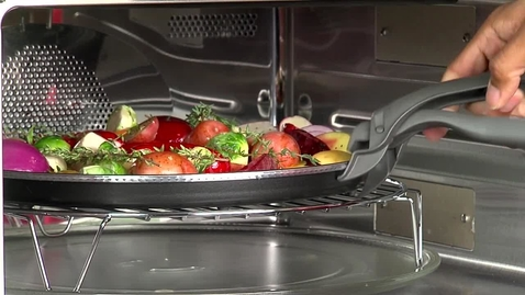 Thumbnail for entry Combination Microwave Oven Feature & Benefit - KitchenAid Cooking