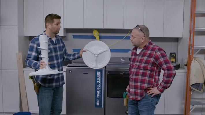 Why choose the Maytag® MVW7230HC with The Fixit Bros.