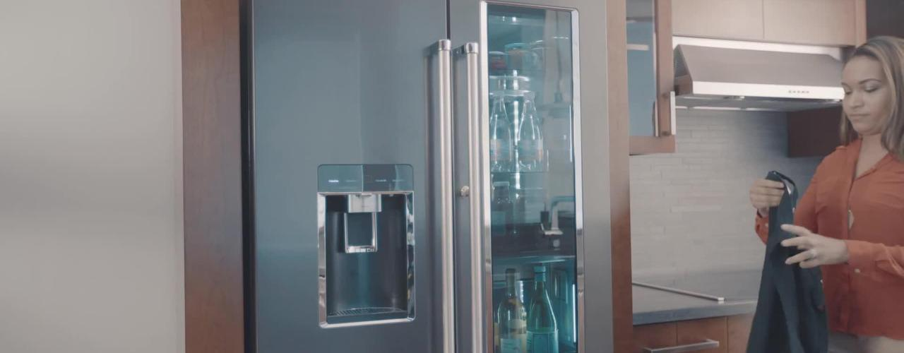 FreshVue™ Door-Within-Door - KitchenAid Counter-Depth Refrigeration