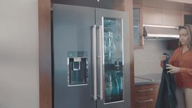 Thumbnail for entry FreshVue™ Door-Within-Door - KitchenAid Counter-Depth Refrigeration