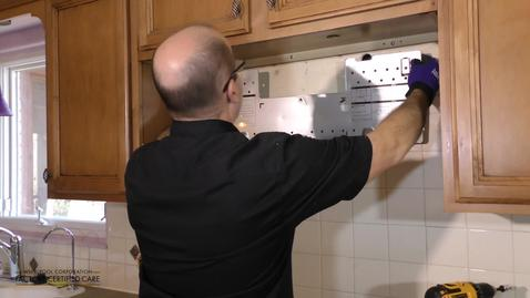 Microwave Low Profile Install