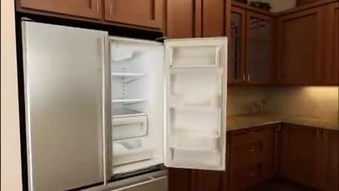 Whirlpool refrigerator french door removal
