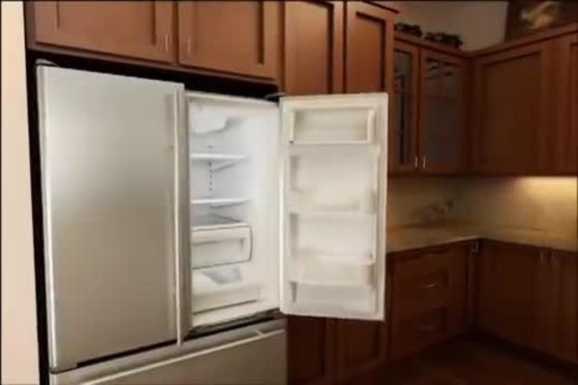 How To Replace Refrigerator Water Filter   French Door U0026 Bottom Freezer  Models