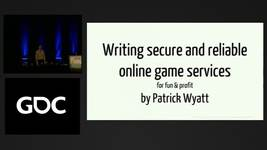 GDC Vault - Writing Server and Network Code for Your Online Game