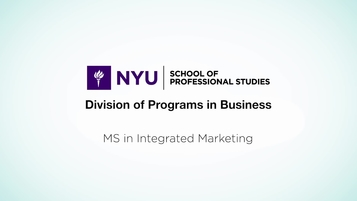 MS in Integrated Marketing | SPS