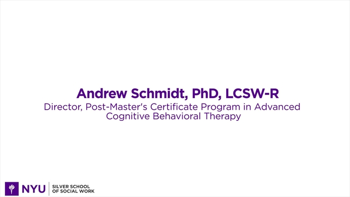 Advanced Cognitive Behavioral Therapy