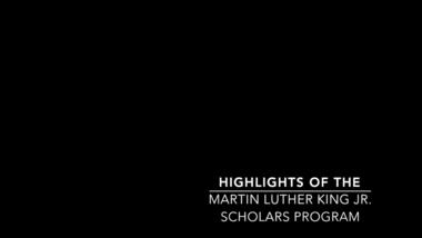 The Martin Luther King, Jr  Scholars Program at NYU