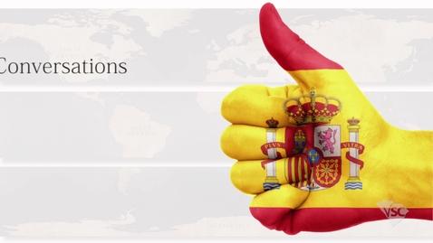 Thumbnail for entry Spanish - A New Member Arrives