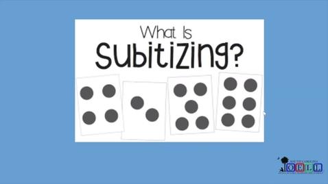 Thumbnail for entry 5K Math Week 2 Day 2 Subitizing, Part 2