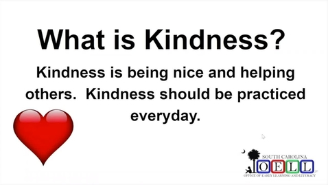 Thumbnail for entry 5K ELA Week 2 Day 3 Kindness and Inferences, Part 3