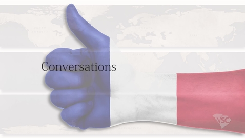 Thumbnail for entry French - Les Salutations