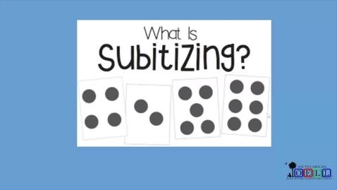 Thumbnail for entry 5K Math Week 2 Day 1 Subitizing, Part 1