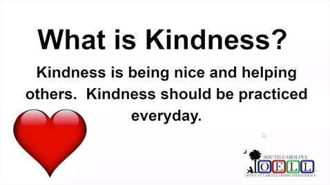 Thumbnail for entry 5K ELA Week 2 Day 2 Kindness and Inferences, Part 2