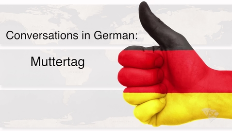 Thumbnail for entry German - Muttertag