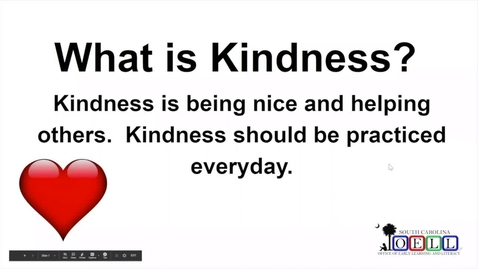 Thumbnail for entry 5K ELA Week 2 Day 1 Kindness and Inferences, Part 1