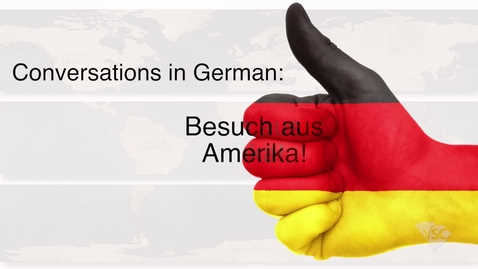 Thumbnail for entry German - Besuch aus Amerika