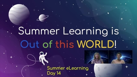 Thumbnail for entry Third Grade ELA Week 3 Day 4 Using Spatial and Temporal Words and Phrases