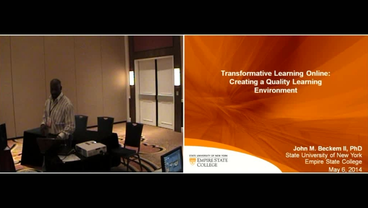 Transformative Learning Online
