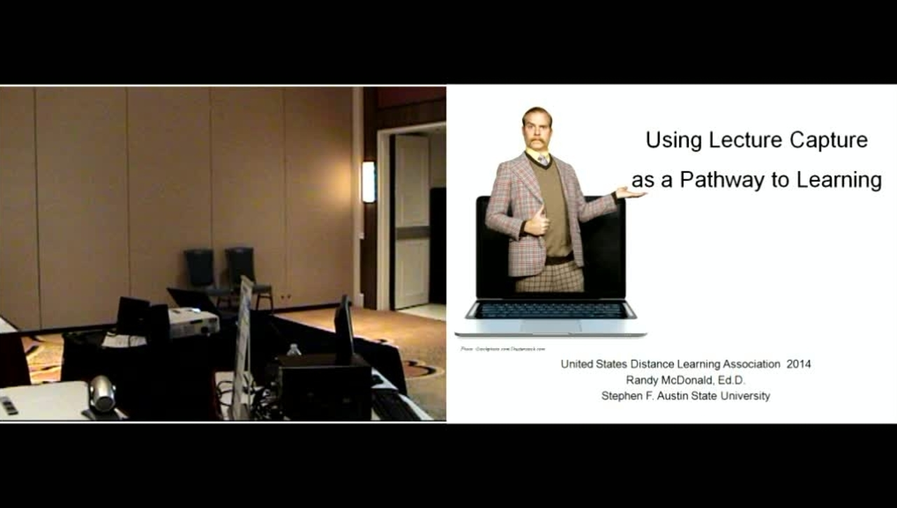 Using Lecture Capture as a Pathway