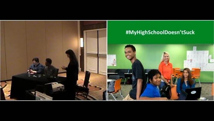 #MyHighschoolDoesn'tSuck