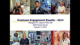 Thumbnail for entry Staff Nurse Forum August 7, 2014