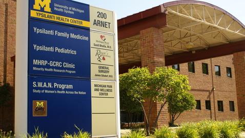 Thumbnail for entry Ypsilanti Health Center