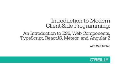 Learning Path: Introduction to the Modern Front-End Web
