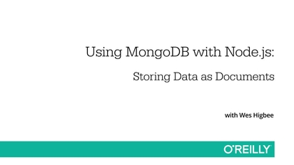 Using MongoDB with Node js
