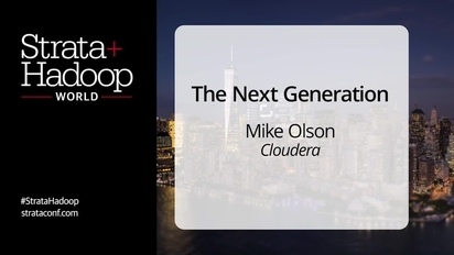 Strata + Hadoop World New York 2015: Video Compilation - O